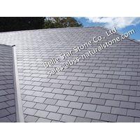 Hubei gray roofing slate,grey slate roof tiles