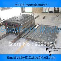 Custom Injection Smoke Detector Shell Mould