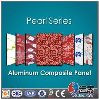 pearl surface Aluminum composite panel for Interior decorate