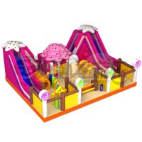 Fashional Design children PVC inflatable slide game