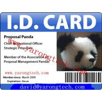 PVC Staff ID Card With Photoes
