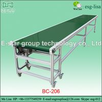 Food industry pvc mesh conveyor belt