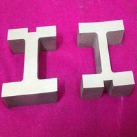 Tungsten carbide letter types die