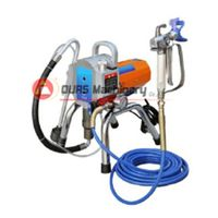 Airless paint sprayer, spray gun