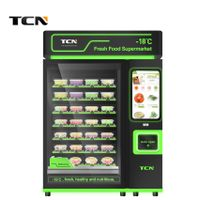 TCN automatic fresh fruit salad egg vegetable frozen food vending machine