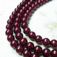 red dyed pearl losse beads thumbnail image