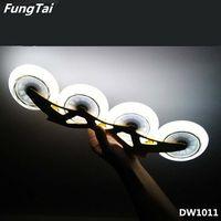 LED Light PU Wheels 100mm 110mm Roller Inline Skate Shoes Wheels (DW1011)