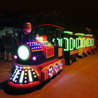 Outdoor Kids Game Amusement Rides Electric Trackless Train thumbnail image