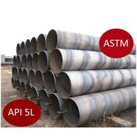 X65 Spiral Welding Carbon Steel Pipe / API5l Oil Pipe