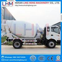 Ling heng manufacturer concrete mixing truck concrete mixer concrete mixing plant for sale