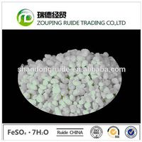 Green Crysta and Granula Ferrous Sulphate FeSO4