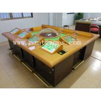 Luxury 10 Players Roulette Gambling Machine with Upgrade Roulette Wheel thumbnail image