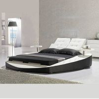 modern leather bed thumbnail image