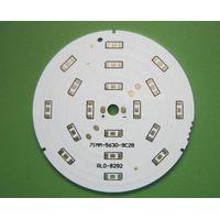 1.6MM Thickness, LED car light,FR4 Single Sided PCB