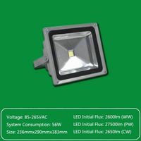 High Power High Bright Outdoor LED Flood  Lighting