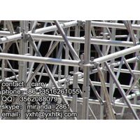 Long Life Construction Material Steel Ringlock Scaffolding For Sale