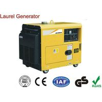 Portable Small 5000W Diesel Generator , Open Type Air-cooled Super Quiet Diesel Generators thumbnail image