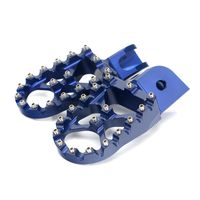 Aluminum MX Foot Rest Footpegs Foot Pegs For BMW thumbnail image