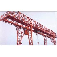truss type double beam hoist gantry crane for girder field
