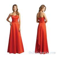 Wholesale satin evening / prom dress (9380) thumbnail image