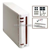 Wii Replacement Customize Console Housing Case White