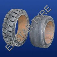 Tyre, Tire, Press-on Solid Tire 14*5*10 thumbnail image