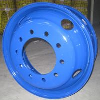 truck steel wheel rim(tubeless steel wheel)