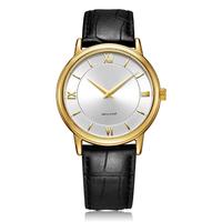 Fashion Luxury Men Gold Plated Stainless Steel Analog Quartz Mens Wrist Watches thumbnail image