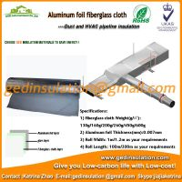 Aluminum foil fiber glass heat resistant insulation foil