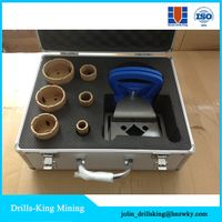 Vacuum brazed diamond tools cutting bit / tiles diamond core drills / diamond hole saws boring bit s thumbnail image
