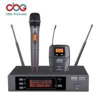 iWM3500 160 CHN True Diversity UHF Wireless Microphone System