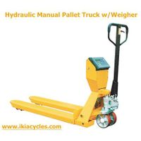 hydraulic pallet truck with scale thumbnail image