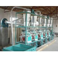 Wheat Mill Machine 20tpd 30tpd 50tpd 80tpd 150tpd 200tpd thumbnail image