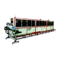 1 to 8 color uv bucket screen printing line