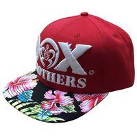 Brand hip hop cap digital printing Flat bill hip hop baseball cap 3d embroidered skateboard cap hat