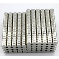 High Strength Strong Discs Cylinders Rounds Diametrically Magnetized Neodymium N35 Rare Earth Magnet
