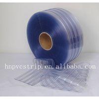 Clear ribbed pvc strip clear curtain thumbnail image