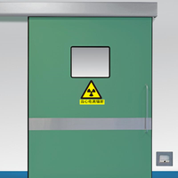 Hospital X-ray Shielding Automatic Sliding Door   Automatic Hospital Door manufacturer