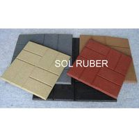 """24""""x24"""",18""""x18"""",16""""x16"""" rubber tiles rubber pavers"""