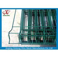 Industry Zone Dark Green Widely Used Stable 3D Wire Mesh Fence