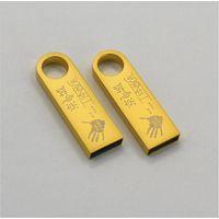CaraUSB promote SE9 mini golden usb flash disk 16GB USB2.0 memory sticks thumbnail image