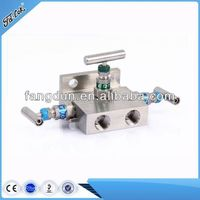 Stainless steel 3 valve manifold,hot sale manifold valves