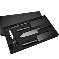 5PC Black knife kitchen thumbnail image