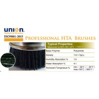 high temperature abrasive (HTA) nylon brushes