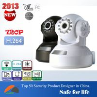 Megapixel 720P support Android and IOS H.264 HD P2P wireless ip camera