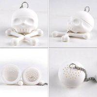 Novelty Skull shaped tea infuser
