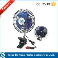 24 v truck fan interior cooling with clip
