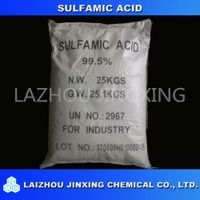 Sulfamic Acid NH2SO3H with 99.5% High Purity Industrial Grade Cas No. 5329-14-6