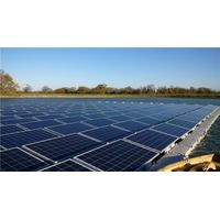 Floating Solar Panel Array
