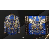 Handmade Prada Silk Batik Fabrics, Style 19